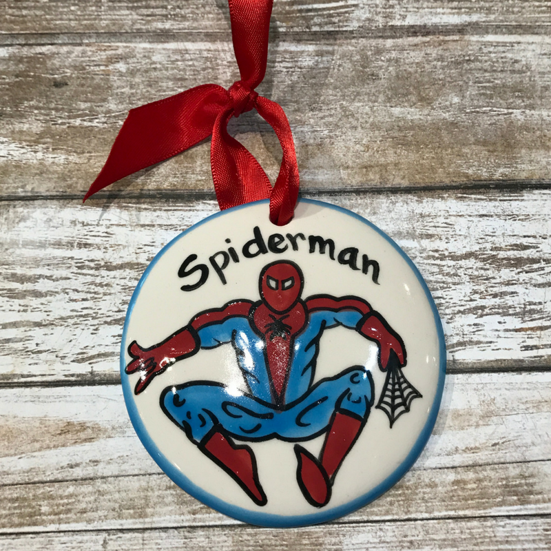 Spiderman Flat Ornament
