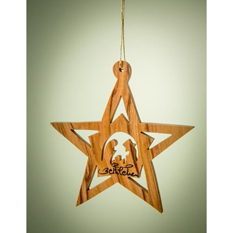 Star with Stable and Nativity Inside