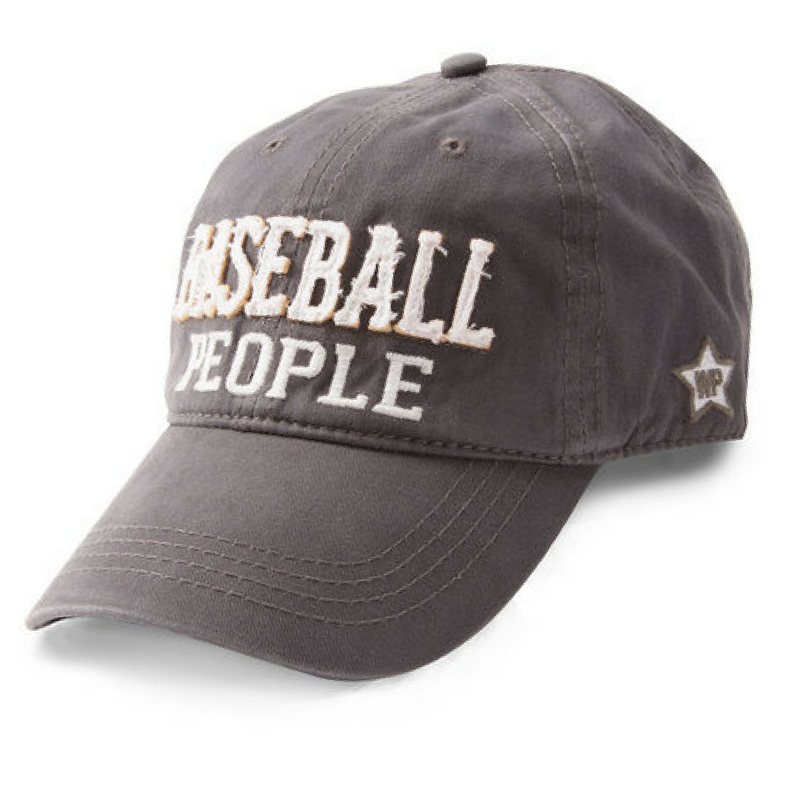 Baseball People Gray Hat
