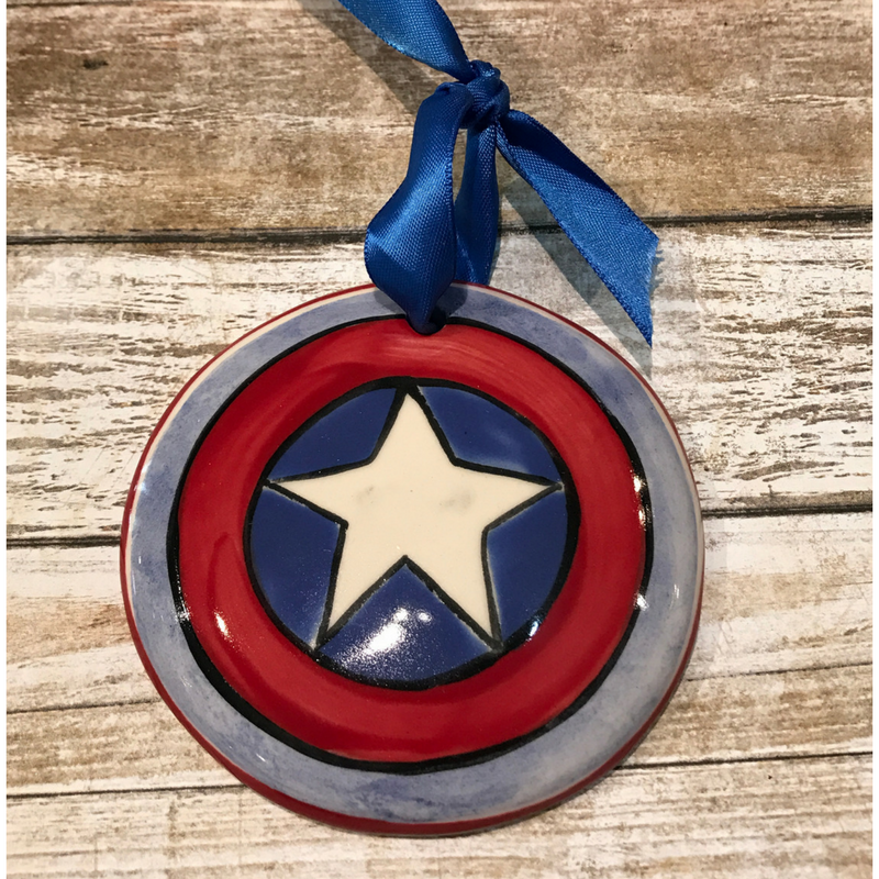 Captain America Ornament