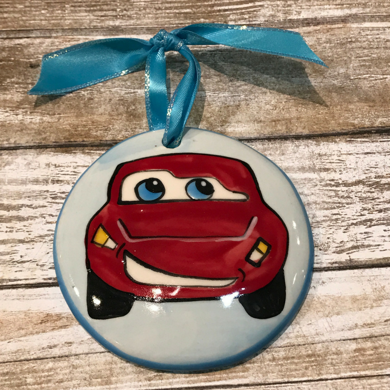 Lighting McQueen Ornament