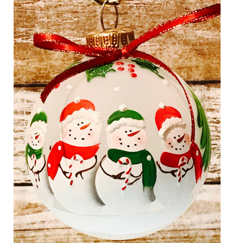 Snowman Family Ornaments