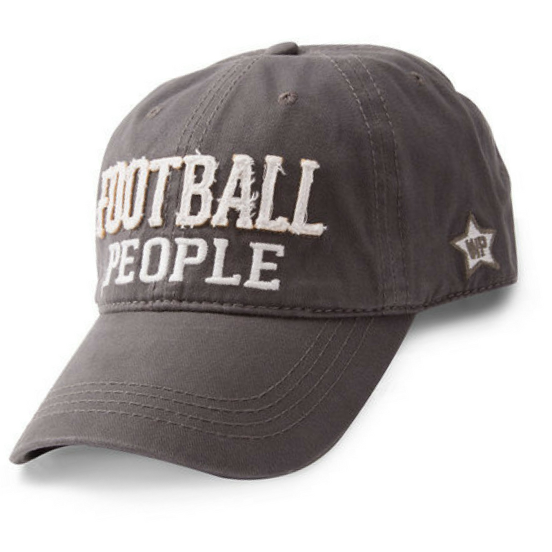 Football People Gray Hat