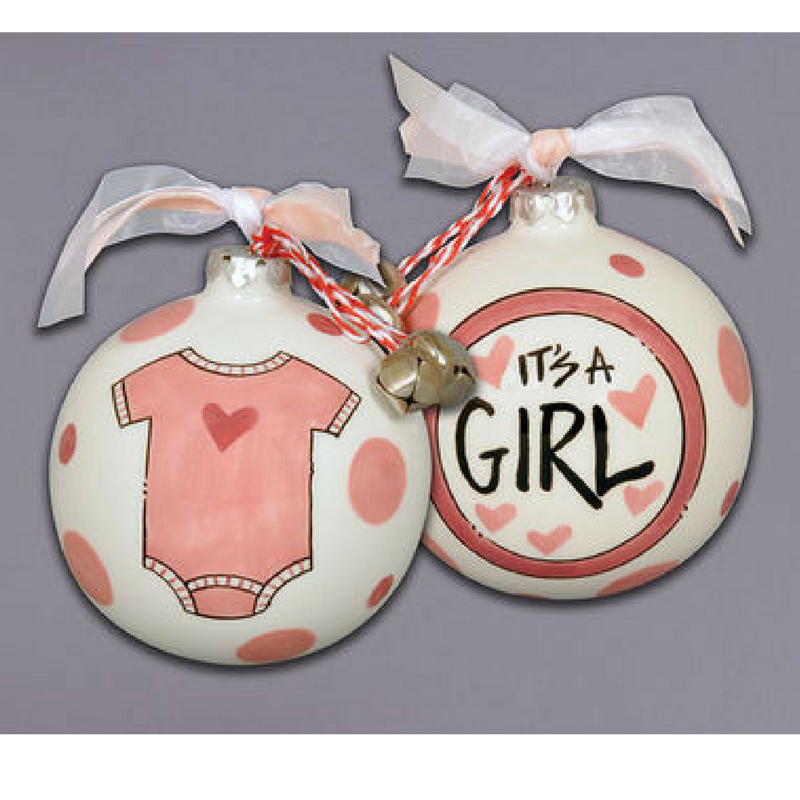 It's a Girl Ornament