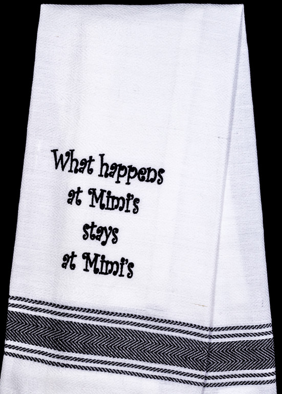 What Happens Mimi's Tea Towel