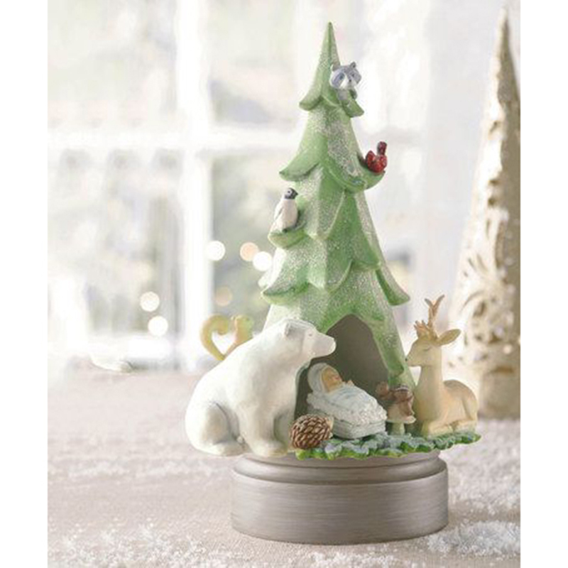 Musical Tree Figurine