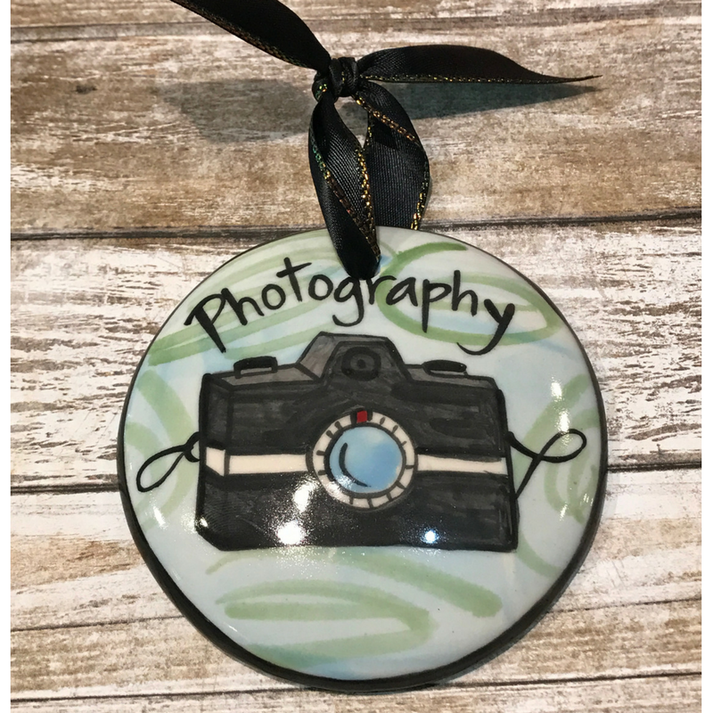 Photography Flat Ornament