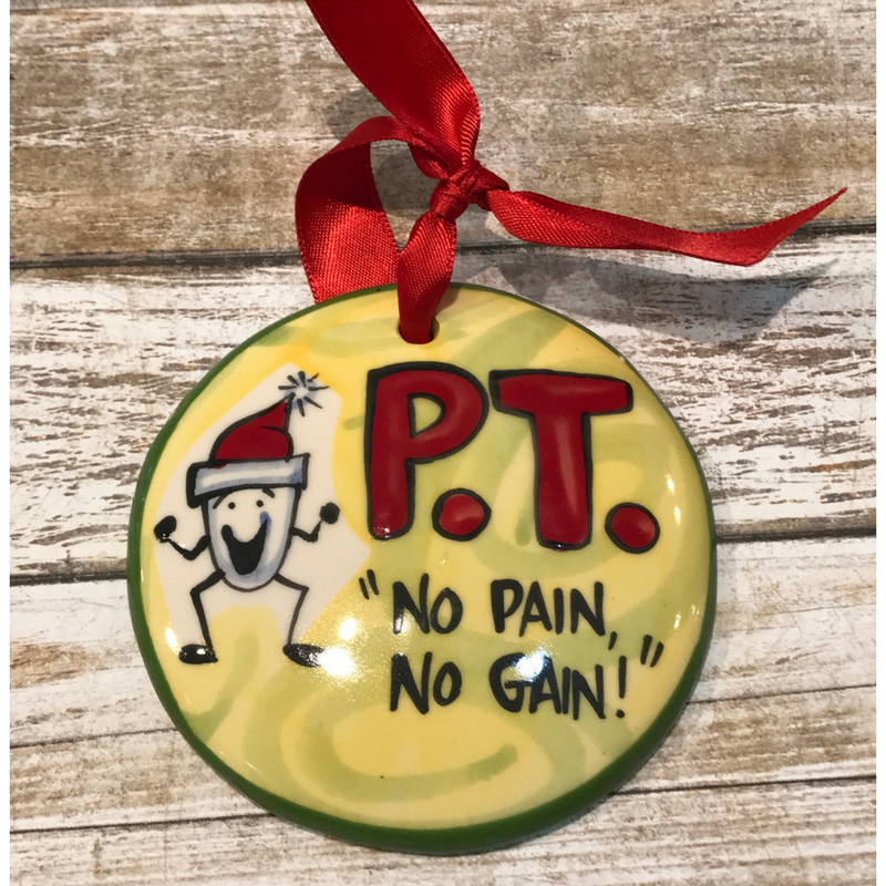 Physical Therapist Flat Ornament