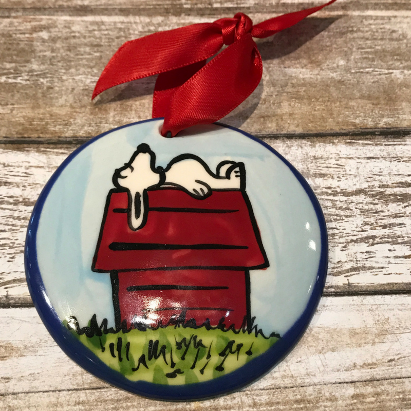Snoopy Flat Ornament