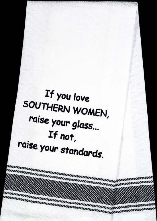 Love Southern Women Tea Towel