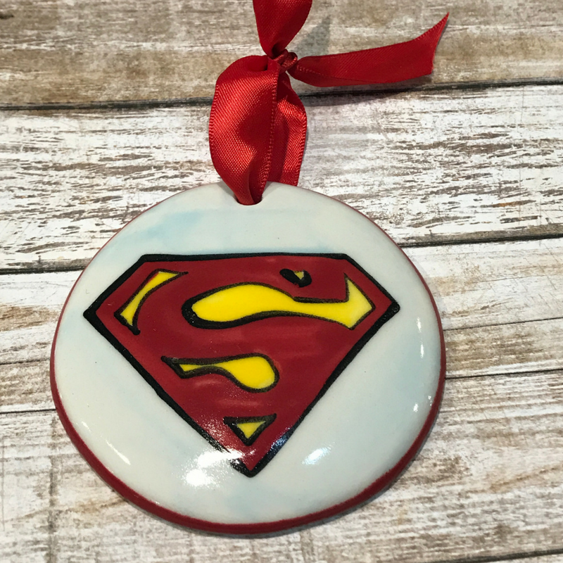 Superman Flat Ornament
