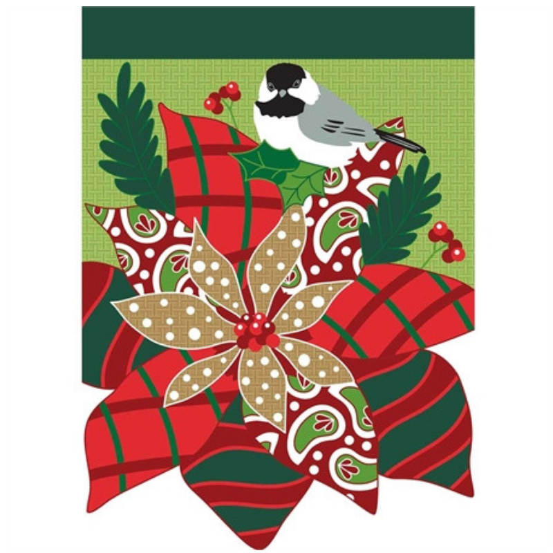 Poinsettia House Flag