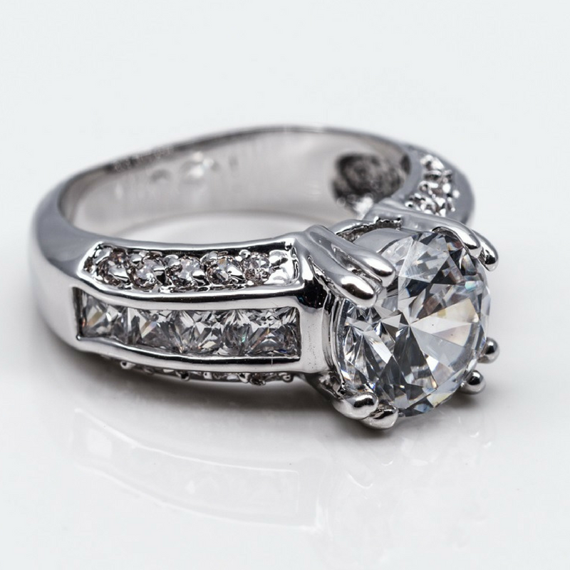 Princess Cut Fashion Ring