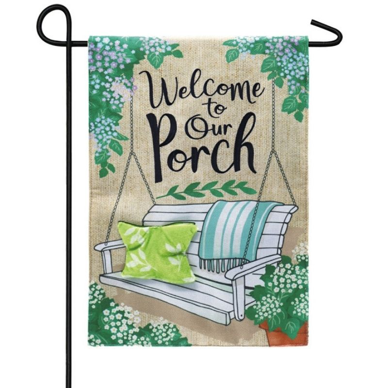 Porch Swing Garden Flag