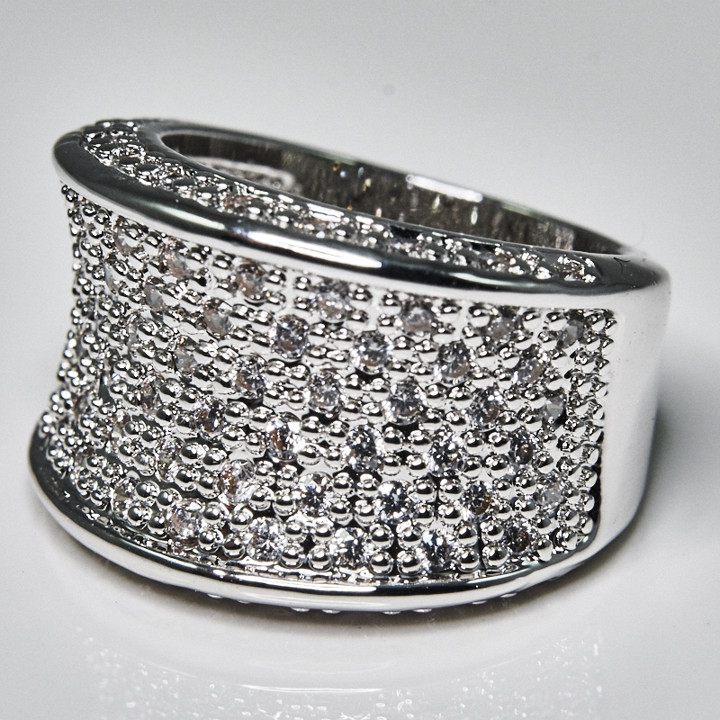 Thick Pave Fashion Ring