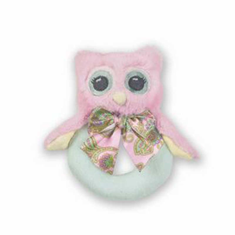 Lil' Hoots Ring Rattle
