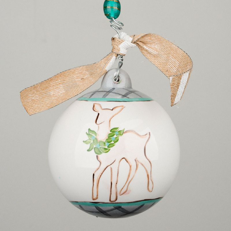 Fawn Boy Ornament