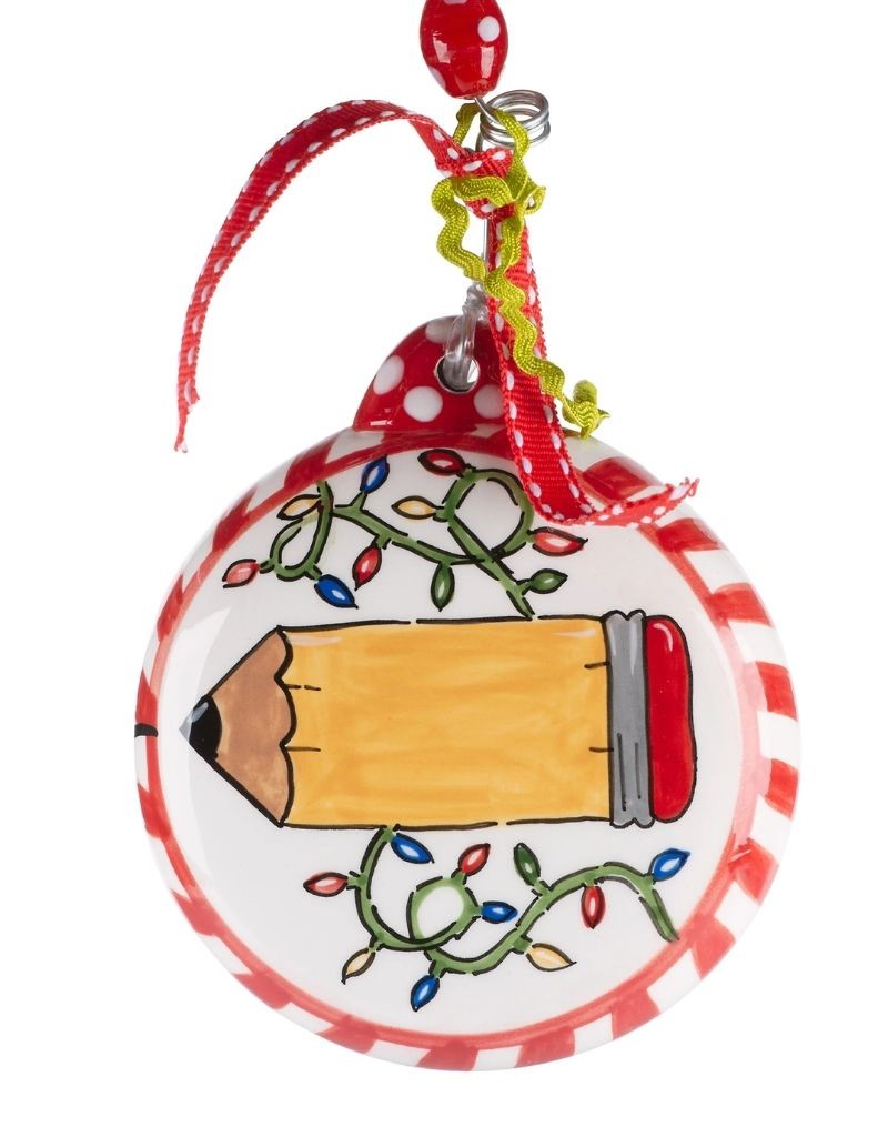 Teacher Pencil Ornament