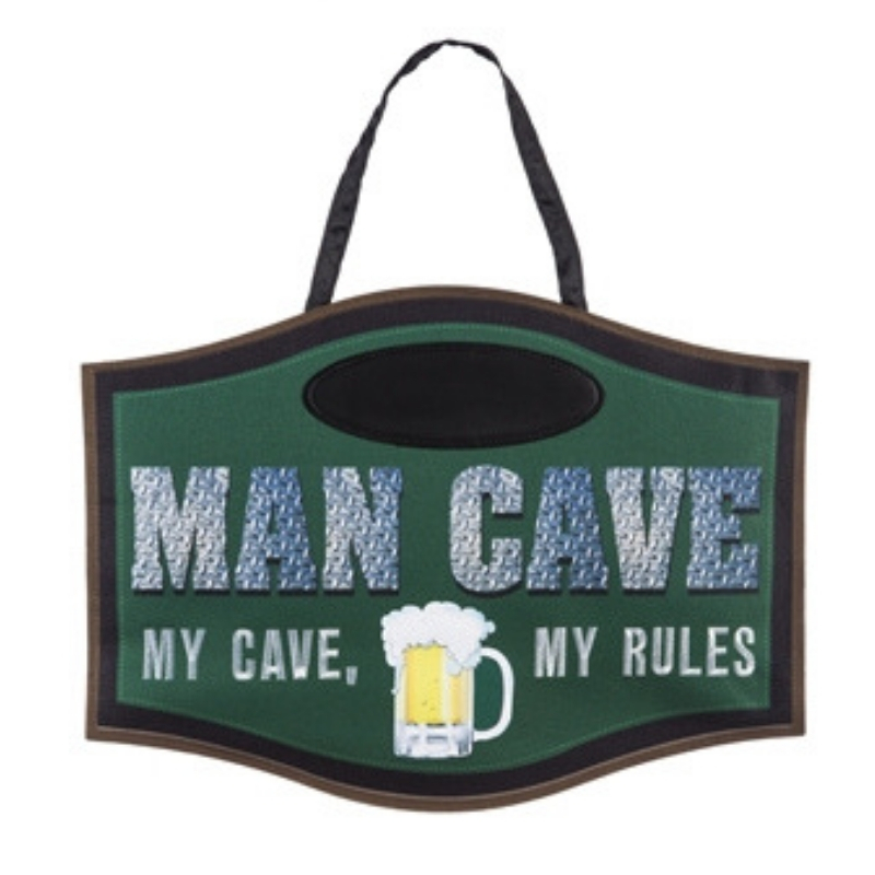Man Cave Door Decor