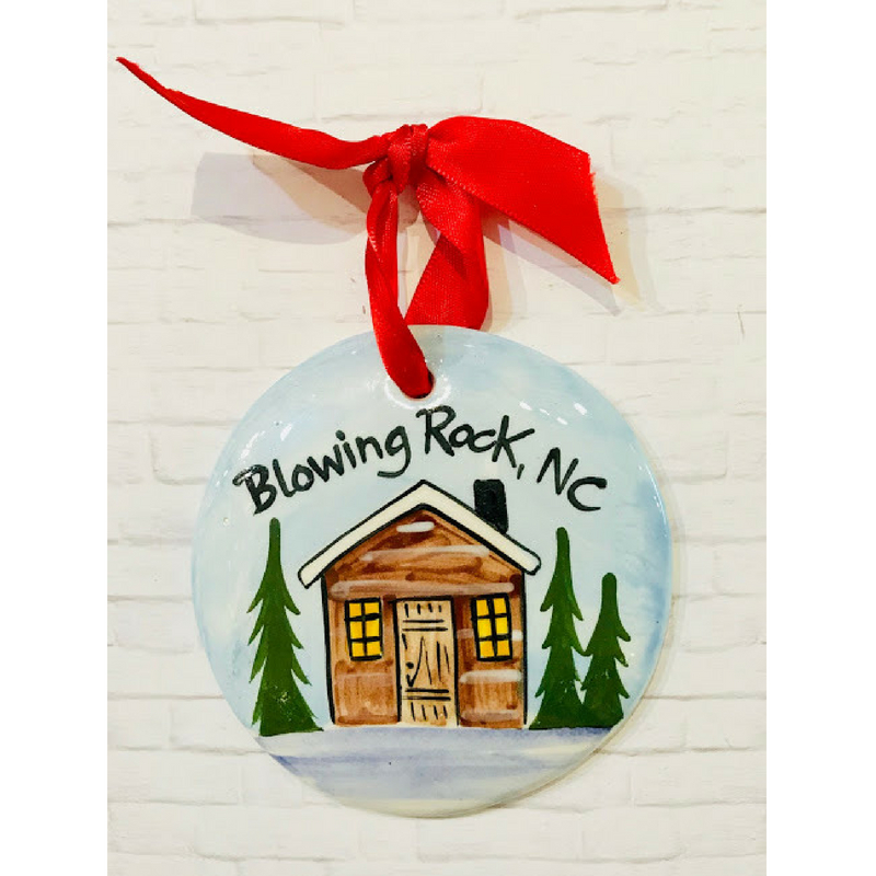 Cabin Ornament