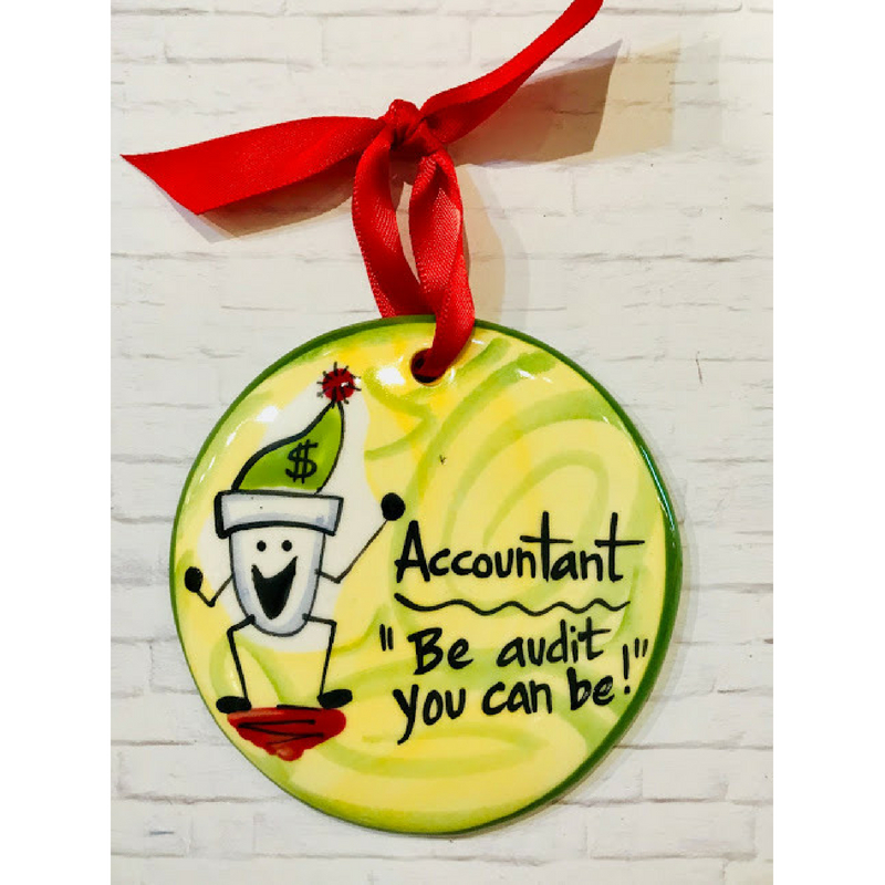 Accountant Ornament