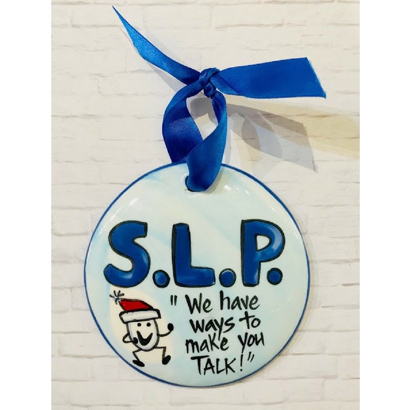Speech Therapist Ornament