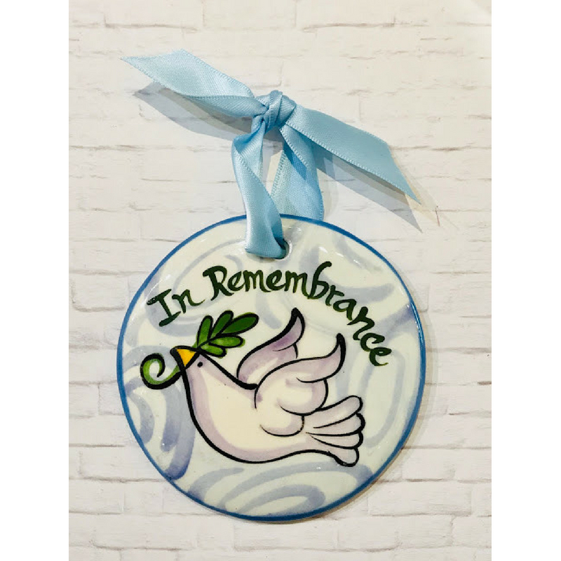 Remembrance Flat Ornament