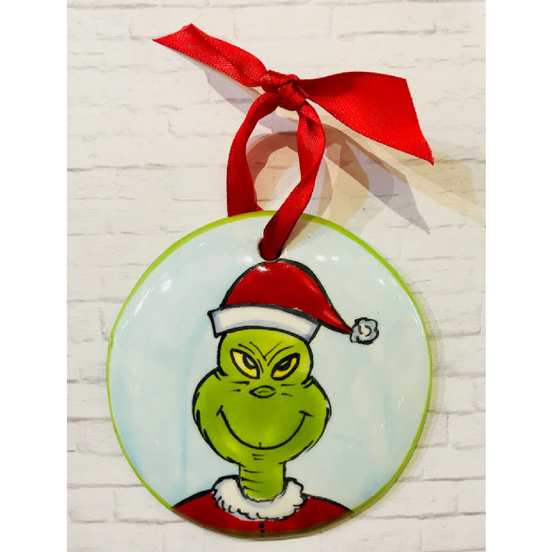 Grinch Flat Ornament