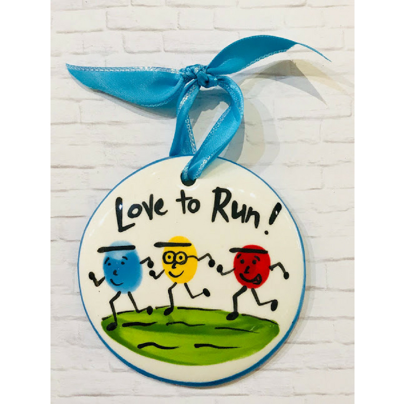 Runner Flat Ornament