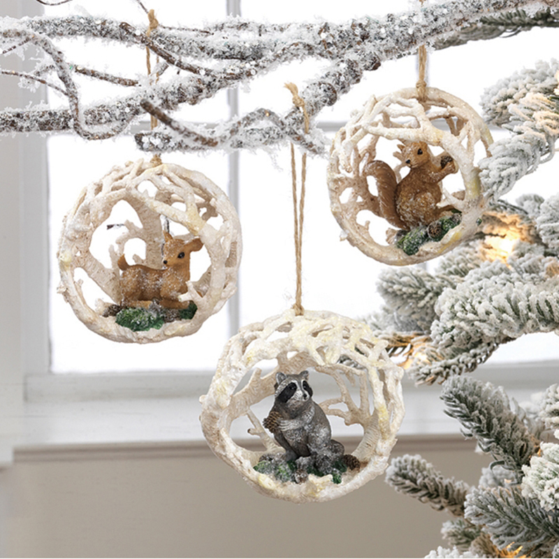 Woodland Ornaments