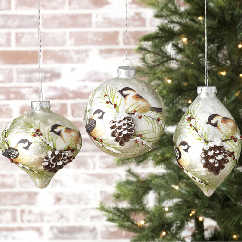 Chickadee Ornaments