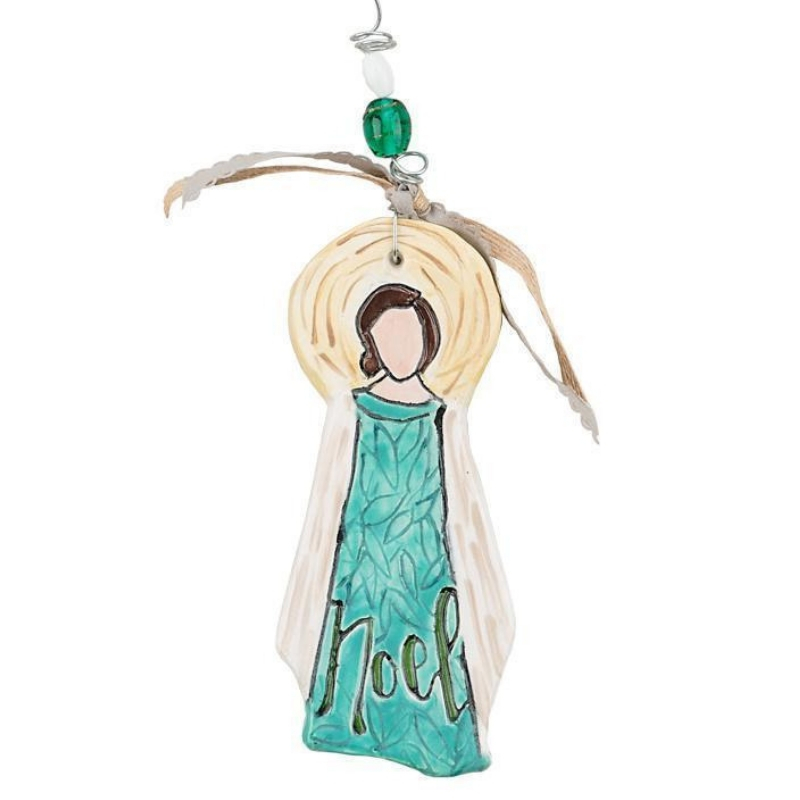 Noel Flat Angel Ornament