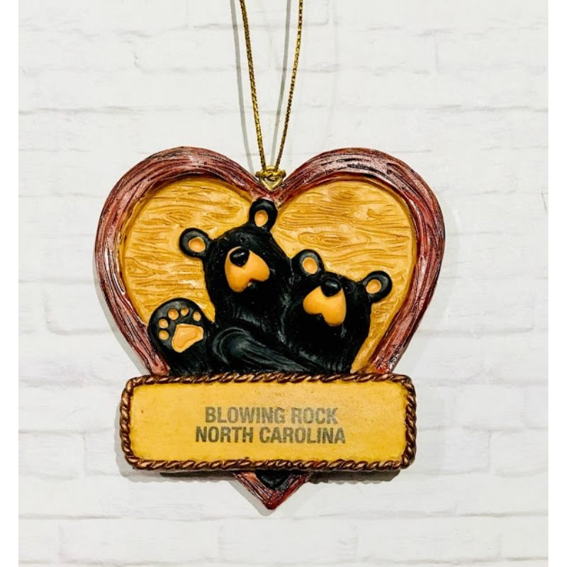 Lovely Dovey Bears Ornament