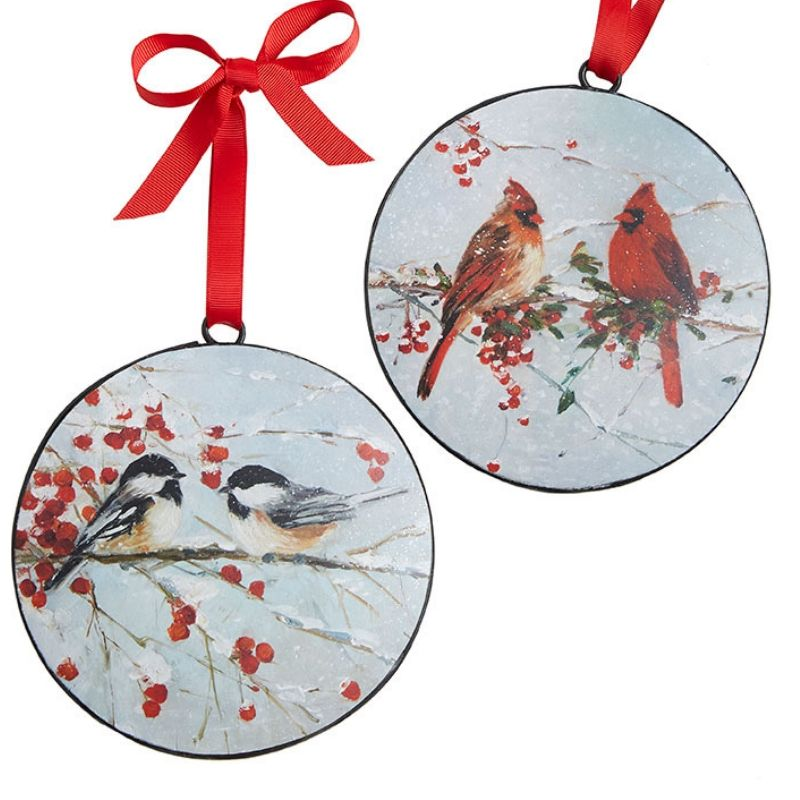 Bird Disc Ornament