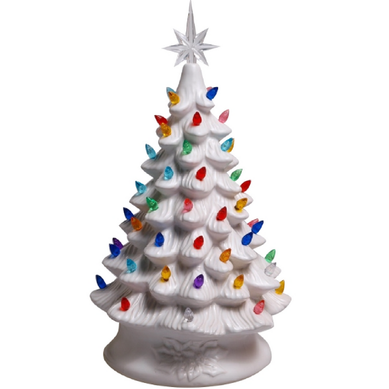 "White 16"" Ceramic Tree"