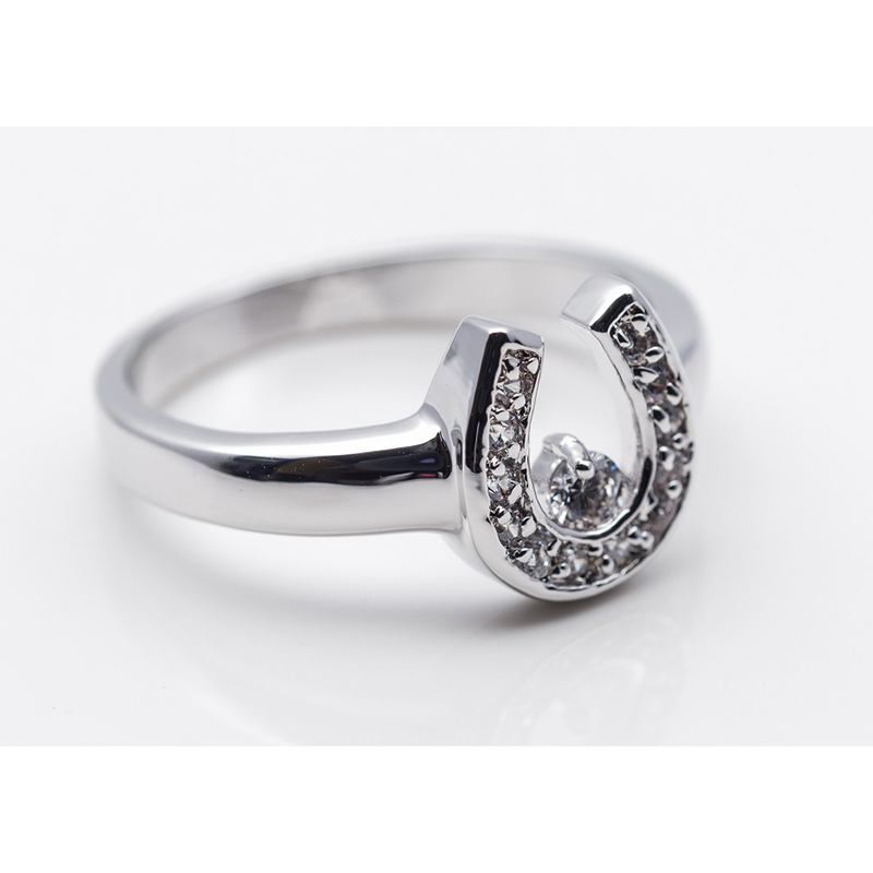Horse Shoe Fashion Ring