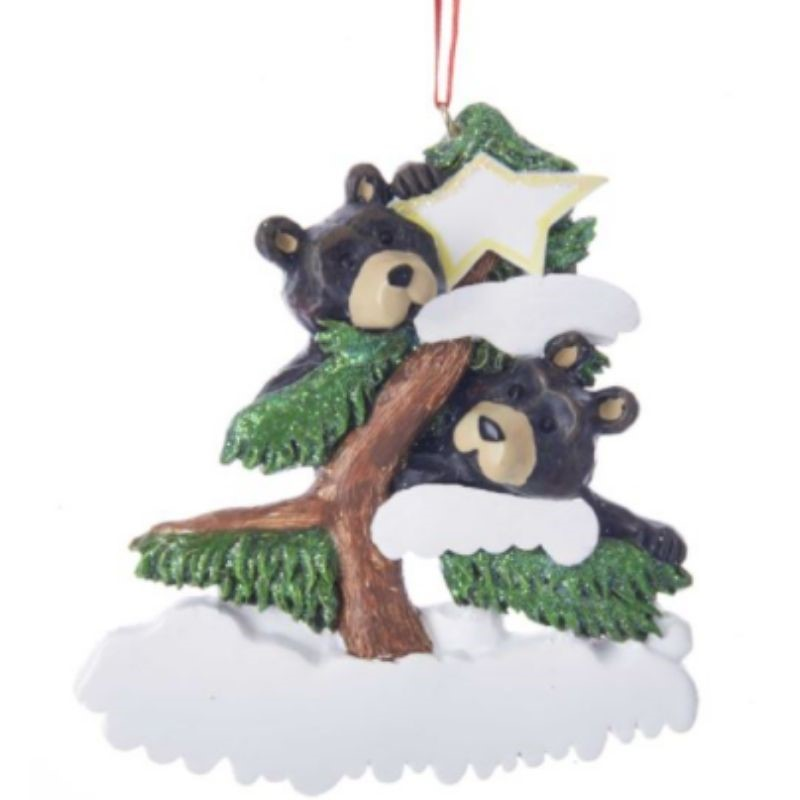 Bear Family of 2 Ornament