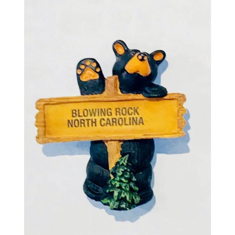 Blowing Rock Bear Magnet