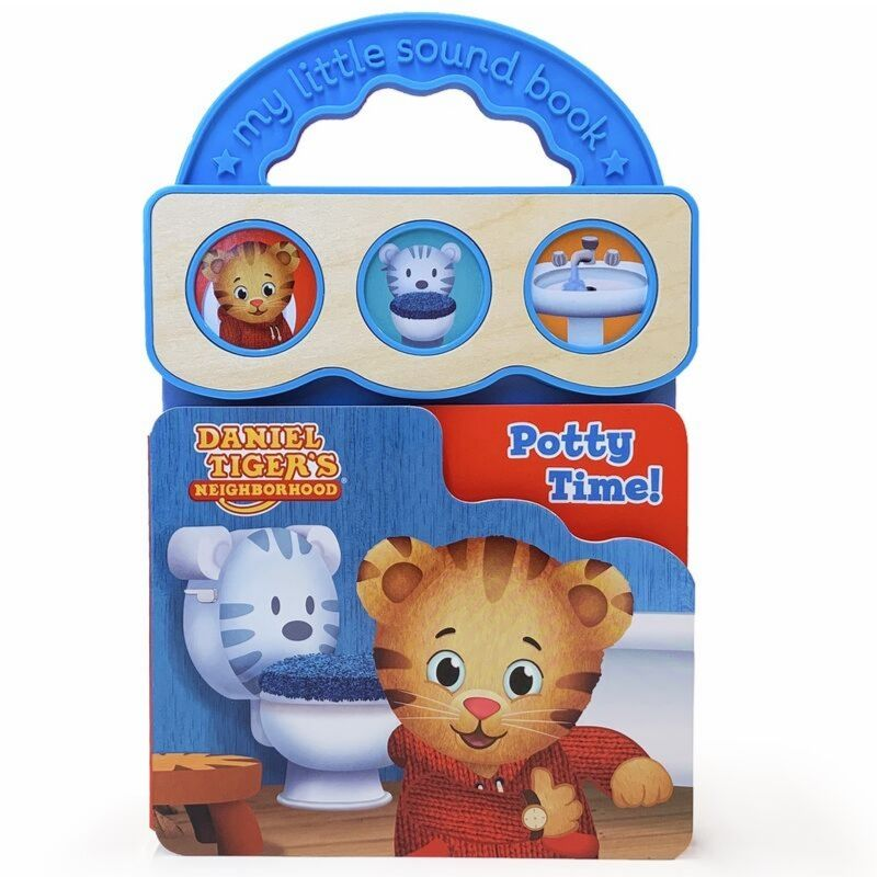 Daniel Tiger Potty Time Sound Book