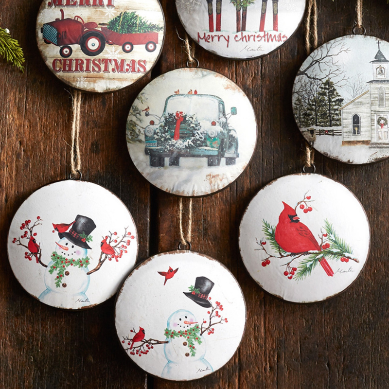 Disc Ornaments
