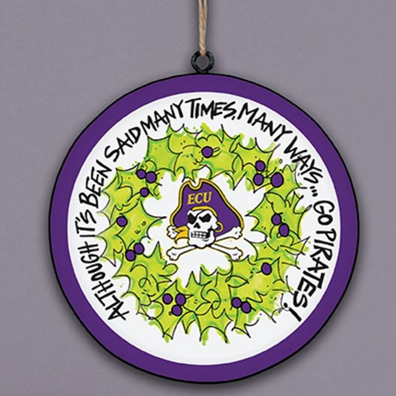 ECU Disc Ornament