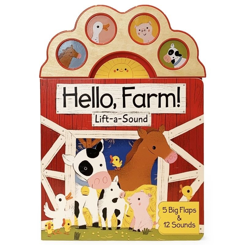 Hello, Farm! Sound Book