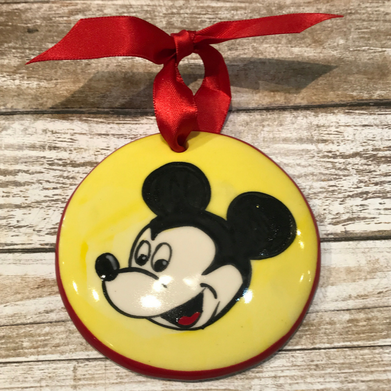 Mickey Mouse Flat Ornament