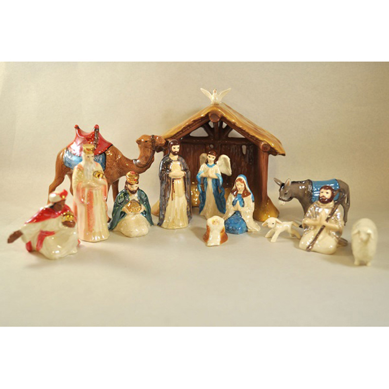 Bone China Nativity