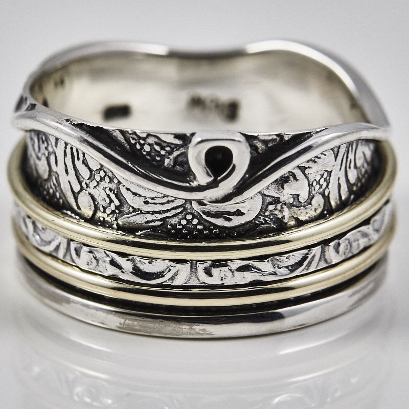 Fancy Spinner Ring
