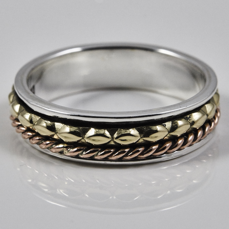 Narrow Spinner Ring