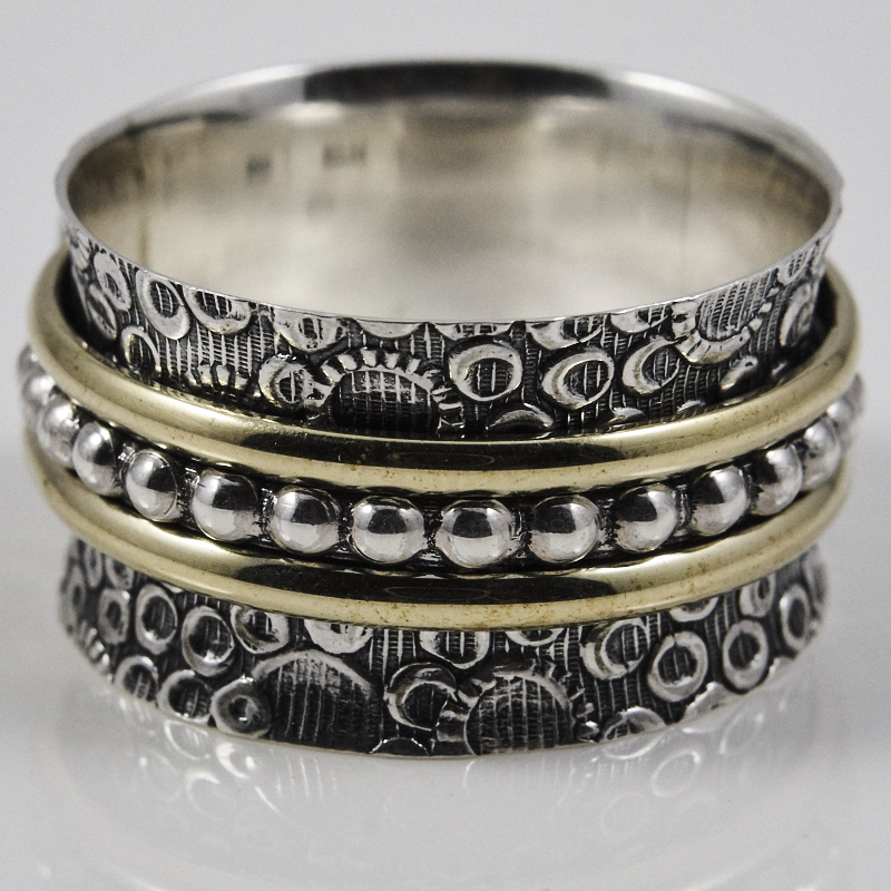 Texture Spinner Ring