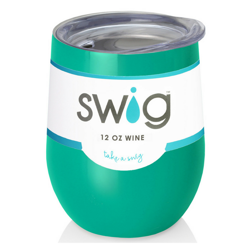 Stemless Wine Cup Turquoise