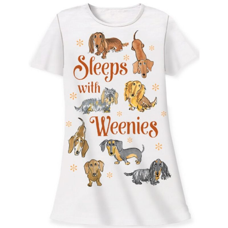 Sleeps Weenies Sleep Shirt