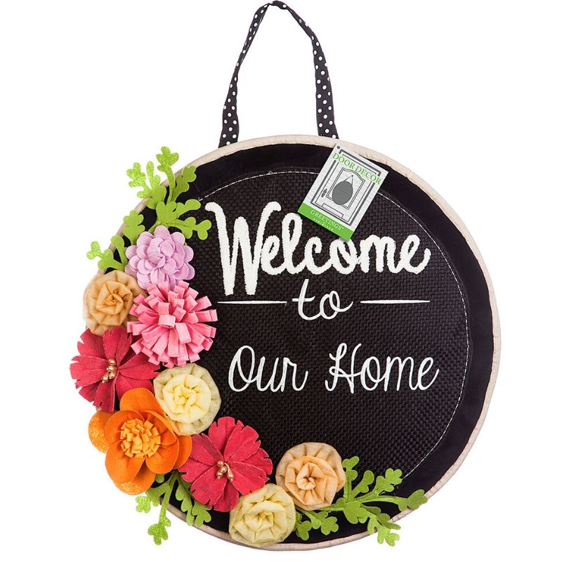Welcome to Our Home Door Décor